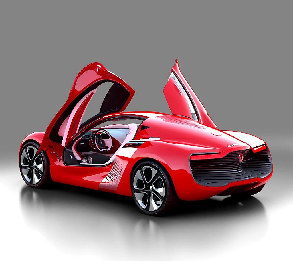Renault DeZir EV Concept