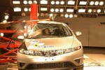 EuroNCAP Crash Honda Civic