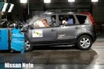 Crashtest Nissan Note