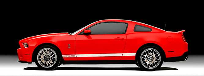 Ford официально представил новый Ford Shelby GT500