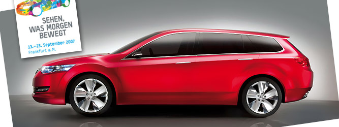 2007 Honda Accord Tourer Concept. 2007: Honda Accord Tourer