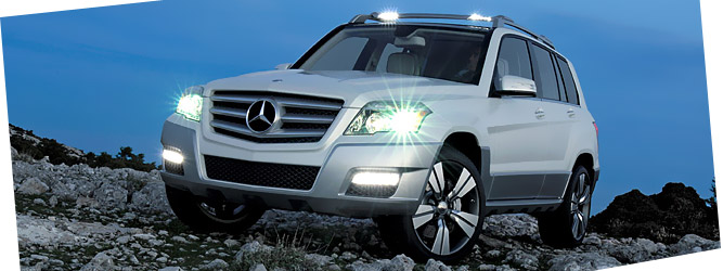 Mercedes GLK Freeside — премьера в Детройте