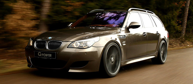 Ателье G-Power поставило пятый универсал BMW на максималку в 360 км/ч