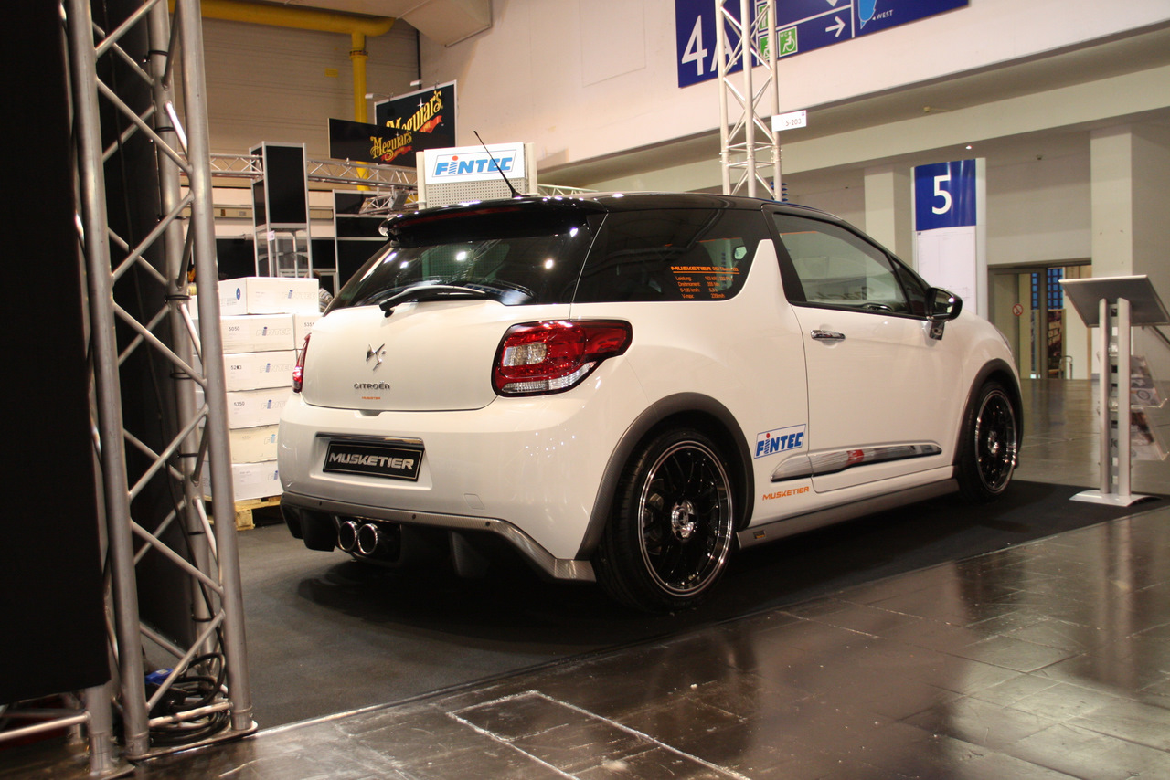 MUSKETIER CITROEN DS3 TIBURON