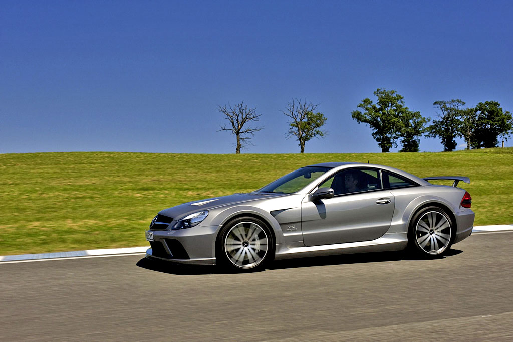 Mercedes SL65 AMG Black Series