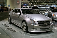 Женева 2008: Cadillac CTS Coupe