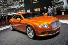 Женева 2011: Bentley Continental GT