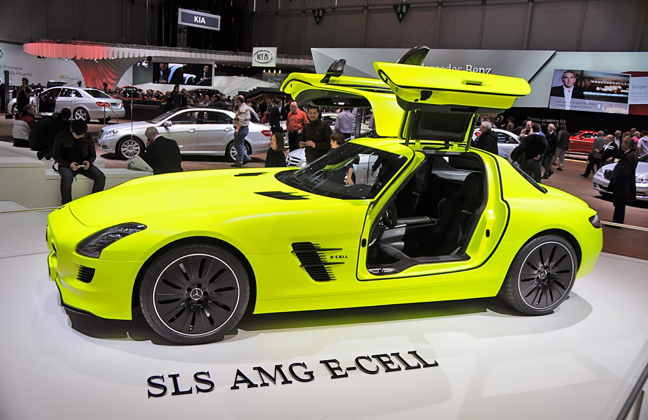 mercedes sls amg e cell. Black Bedroom Furniture Sets. Home Design Ideas