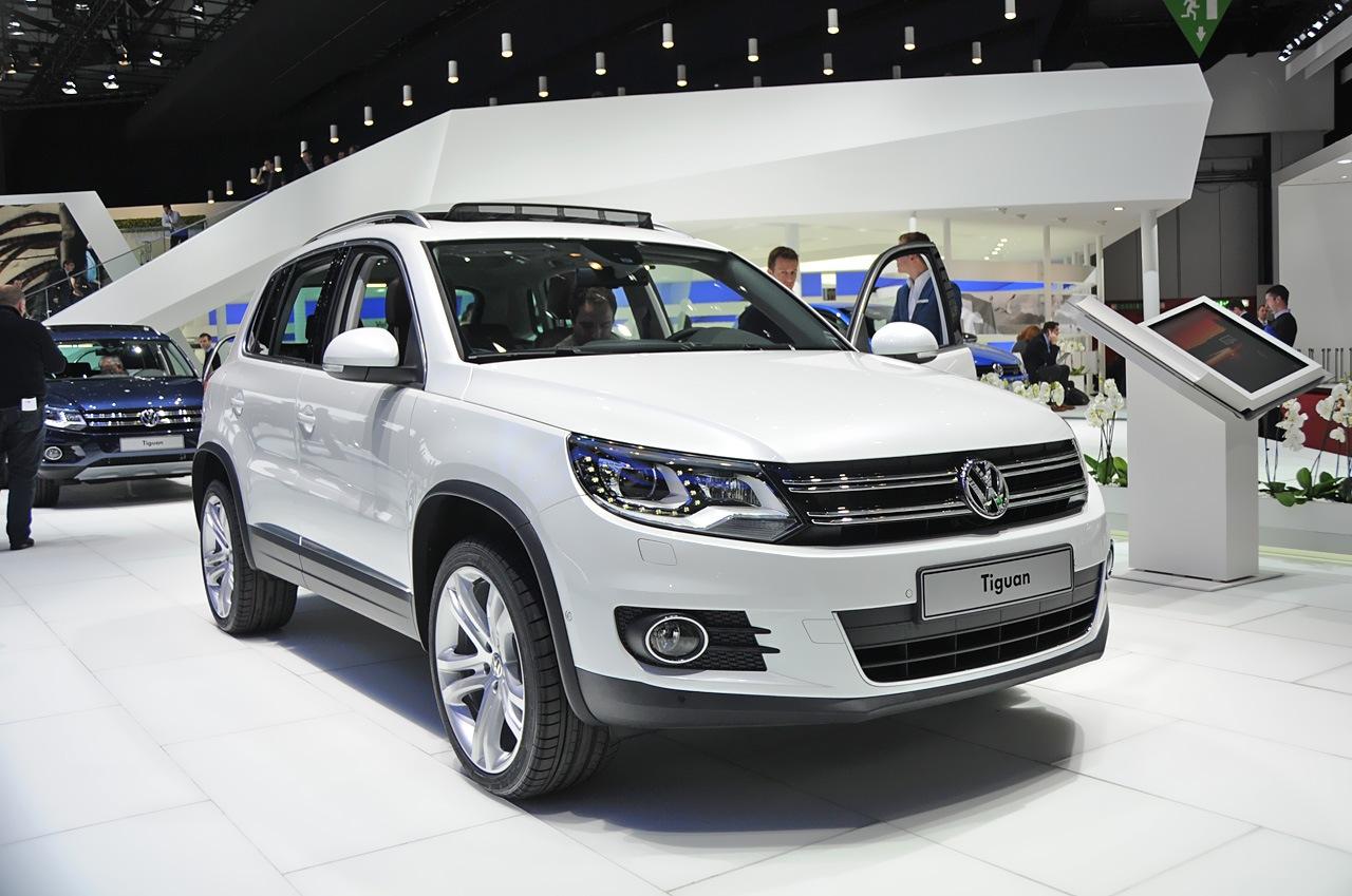 Фотографии Volkswagen Tiguan 2011