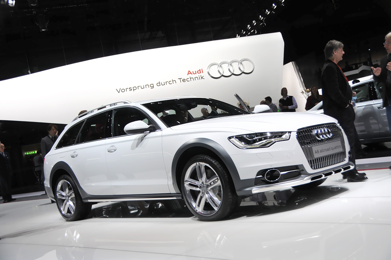 Audi a6 allroad quattro фото