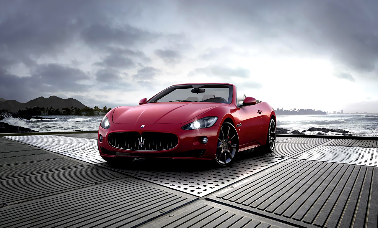 Maserati GranCabrio Sport 2012 в фотографиях