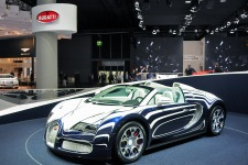 Франкфурт 2011: Bugatti Grand Sport L'Or Blanc