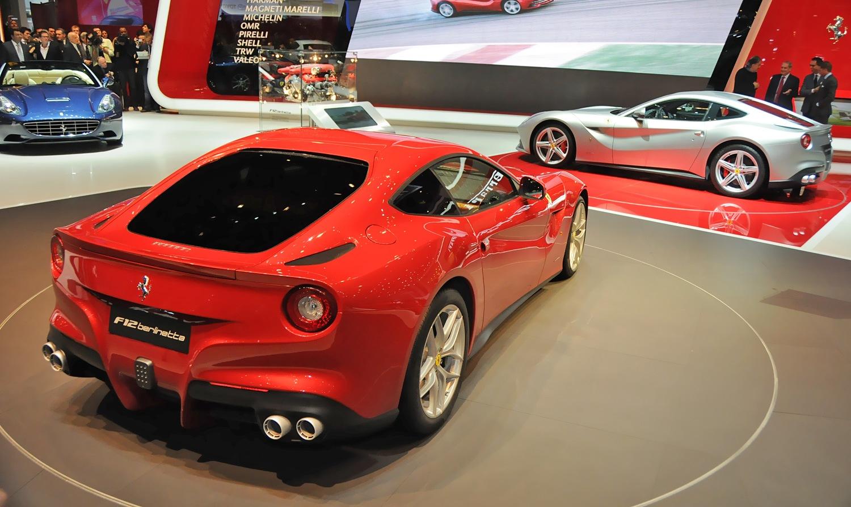 фотографии Ferrari F12 Berlinetta 2012