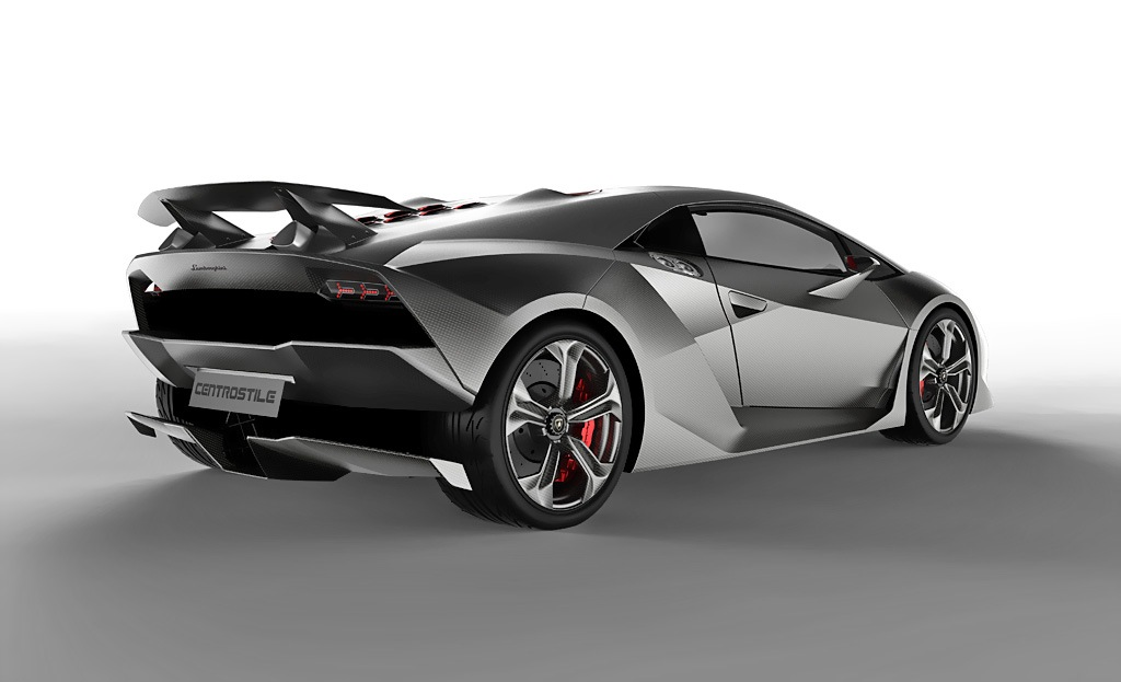Фотографии Салон Lamborghini Sesto Elemento Concept