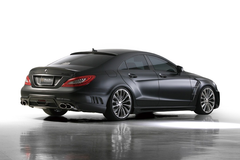 Фотографии Wald Mercedes Cls Black Bison